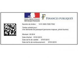 passeport les timbres fiscaux d mat rialis s sont disponibles chez les buralistes. Black Bedroom Furniture Sets. Home Design Ideas
